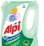 Grass ALPI гель концентрат для стирки цветных вещей